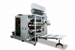 Maquina multi-pistas de StickPack de alta produtividade